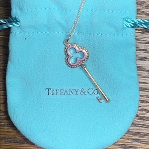 Tiffany & Co. Crown Key Necklace